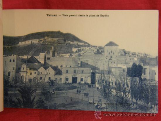 Postales: 20 tarjetas postales Bloc postal Recuerdo de Tetuán Ed. M. Arribas Zaragoza, ppios S XX Xauen - Foto 5 - 36381118