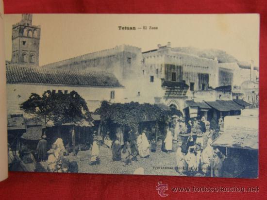 Postales: 20 tarjetas postales Bloc postal Recuerdo de Tetuán Ed. M. Arribas Zaragoza, ppios S XX Xauen - Foto 4 - 36381118
