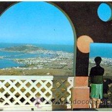 Postales: 7-ESP1952. POSTAL CEUTA. LA CIUDAD DESDE EL MIRADOR GARCIA ALDAVE. Lote 36674162