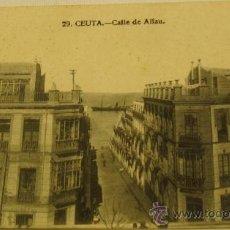 Postales: POSTAL CEUTA CALLE DE ALFAU Nº 29. Lote 36852519