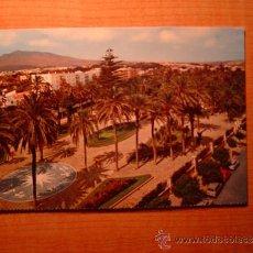 Postales: POSTAL MELILLA PARQUE HERNANDEZ SIN CIRCULAR. Lote 37083984