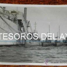 Postales: FOTO POSTAL DE CEUTA, 4 SUBMARNOS ATRACADOS EN EL PUERTO, EPOCA DE ALFONSO XIII, SIN CIRCULAR, FOTOG. Lote 37753411