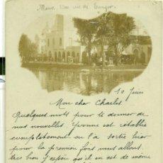 Cartes Postales: TÁNGER. UNA VISTA DE LA CIUDAD. CIRCULADA EN 1900.FOTOGRÁFICA.. Lote 38093177