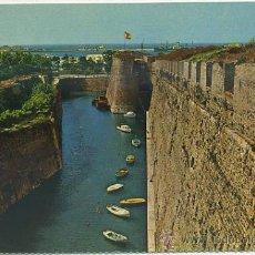 Postales: POSTAL DE CEUTA. MURALLAS PORTUGUESAS FOSO DE S. FELIPE Nº 124 P-CEME-383. Lote 38168932