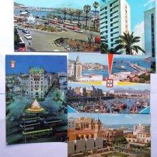 Cartoline: 5 POSTALES DE CEUTA / AÑOS 60 - 70 / VARIAS EDICIONES. Lote 39352579