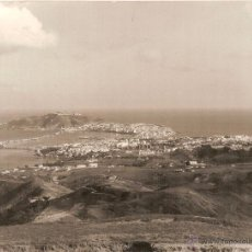 Postais: CEUTA, VISTA GENERAL - FOTO GARCIA CORTES - TAMAÑO GIGANTE 24X18 - ESCRITA A MAQUINA EN 1963. Lote 56490237