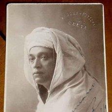 Postais: ANTIGUA FOTO POSTAL DE ARBONA, FOTOGRAFO DE CEUTA 1924 - SIN CIRCULAR Y CON SELLO EN SECO.. Lote 39546941