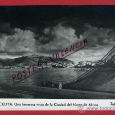POSTAL, CEUTA, UNA HERMOSA VISTA DE LA CIUDAD, P90503