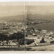 Postales: POSTAL ANTIGUA DOBLE FOTOGRAFICA - CEUTA -VISTA GENERAL DESDE EL HACHO. Lote 40324990