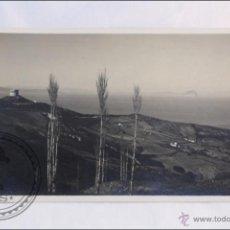 Postales: POSTAL FOTOGRÁFICA CEUTA: VISTA DEL PEÑÓN TOMADA DESDE CEUTA - EDICIÓN ROS.. Lote 40981052
