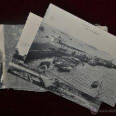 Postales: ANTIGUO ALBUM CON 10 POSTALES DE VISTAS DE CEUTA VARIADAS. FOT. RUBIO. Lote 41000397