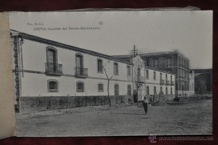 Postales: ANTIGUO ALBUM CON 10 POSTALES DE VISTAS DE CEUTA VARIADAS. FOT. RUBIO - Foto 7 - 41000397