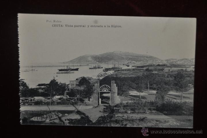 Postales: ANTIGUO ALBUM CON 10 POSTALES DE VISTAS DE CEUTA VARIADAS. FOT. RUBIO - Foto 13 - 41000397