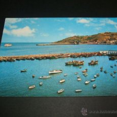 Postales: CEUTA ENTRADA TRANSBORDADOR Y MONTE HACHO. Lote 41091864