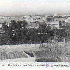 Postais: INTERESANTE POSTAL DE CEUTA - HERMOSA VISTA DE GRAN PUERTO AFRICANO DE CEUTA - FOTO RUBIO Nº 133. Lote 41268567