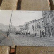 Postales: POSTAL DE CEUTA EDITOR MANUEL BARREIRO SIN CIRCULAR CALLE DE LA MURALLA. Lote 41649028
