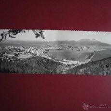 Postales: CEUTA.UNA VISTA DE LA HERMOSA CIUDAD ESPAÑOLA DESDE EL MONTE HACHO.POSTAL DOBLE.FOTO RUBIO.. Lote 42182339
