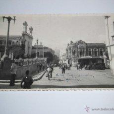 Postales: UNA VISTA DE CEUTA.REVERSO CON EL SELLO ESTAMPADO DE FOTO RUBIO.FOTOGRAFIA POSTAL. Lote 42186496