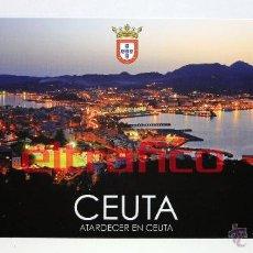 Postales: POSTALES CEUTA - ATARDECER EN CEUTA - POSTAL // D2. Lote 97003764