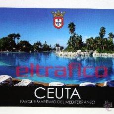 Postales: POSTALES CEUTA - PARQUE MARITIMO DEL MEDITERRANEO - POSTAL // D2. Lote 97003832