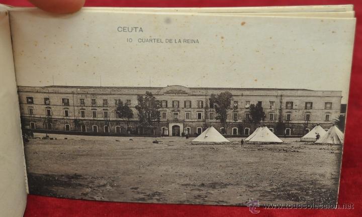 Postales: ALBUM DE POSTALES RECUERDO DE CEUTA. DIFERENTES VISTAS. HAUSER Y MENET. 20 TARJETAS - Foto 11 - 42887468