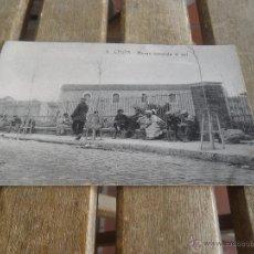Postales: POSTAL DE CEUTA EDITOR MANUEL BARREIRO SIN CIRCULAR MOROS TOMANDO EL SOL. Lote 43000057