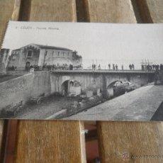 Postales: POSTAL DE CEUTA EDITOR MANUEL BARREIRO SIN CIRCULAR PUENTE ALMINA. Lote 43000066