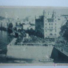 Postales: CEUTA. VISTA PARCIAL DE LA CIUDAD Y CALLE DE PABLO IGLESIAS. FOTOTIPIA HAUSER Y MENET. MADRID. Lote 43057713