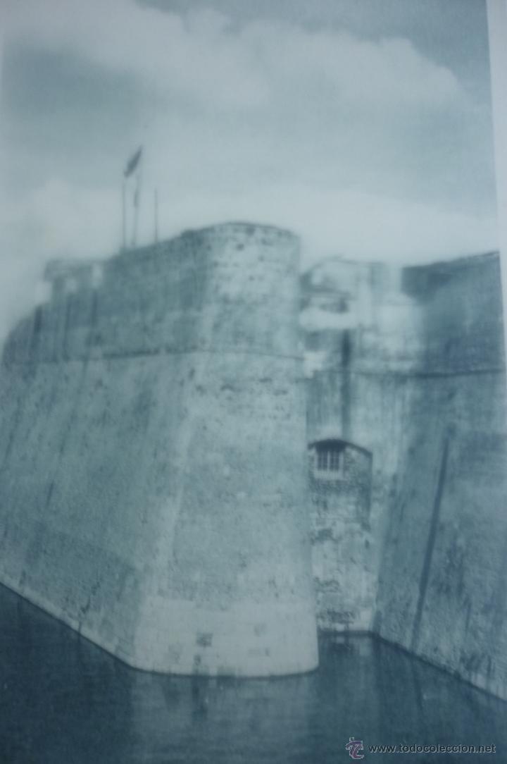 CEUTA. DETALLE DE LA MURALLA REAL. FOTOTIPIA HAUSER Y MENET. MADRID (Postales - España - Ceuta Antigua (hasta 1939))