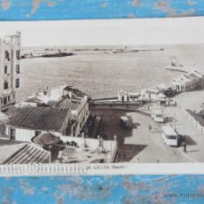 Postales: ANTIGUA POSTAL DE CEUTA - PUERTO - ROISIN Nº 28 - AÑO 1936 - NO CIRCULADA - EN BUEN ESTADO -. Lote 43600170