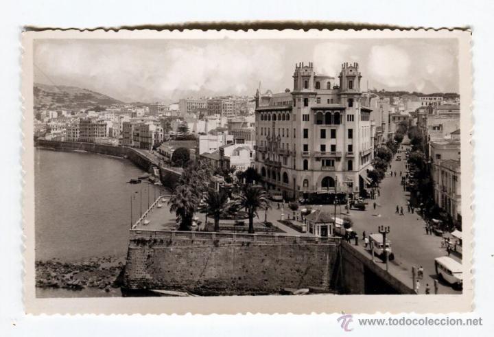CEUTA NO DIVIDIDA (FOTO) CUÑO POSTERIOR FOTOGRAFIA RUBIO NUEVA SIN USO (Postales - España - Ceuta Moderna (desde 1940))