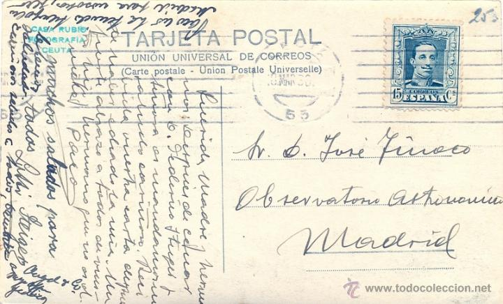 Postales: POSTAL FOTOGRAFICA DE CEUTA, PUENTE DE LA ALMINA, FOT.CASA RUBIO, MAGNIFICA - Foto 2 - 43902534