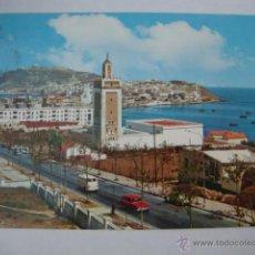 Postales: TARJETA POSTAL CEUTA CIRCULADA, AÑOS 60/70. LOTCRE250. Lote 44832736