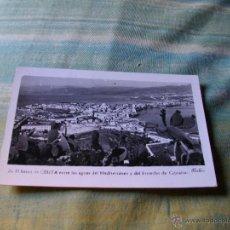 Postales: POSTAL DE CEUTA BONITA VISTA AÑOS 50 . Lote 44852273