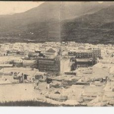 Postales: TETUAN - POSTAL PANORAMICA DE 26,5 X 9 CM. VISTA GENERAL. Lote 45142053