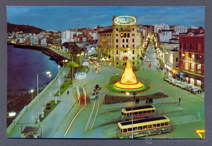CEUTA. BELLA PERSPECTIVA DEL CLASICO REVELLIN (Postales - España - Ceuta Moderna (desde 1940))