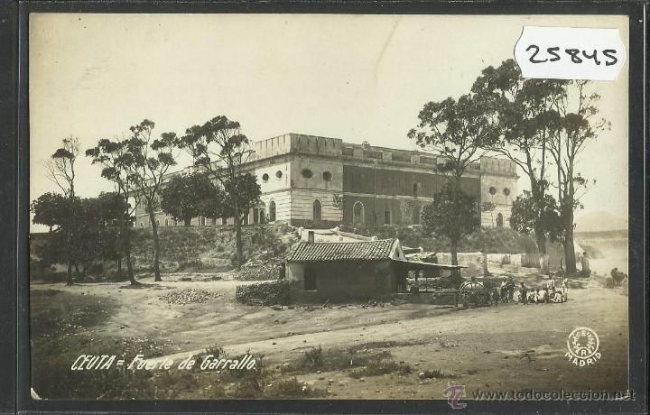 CEUTA - FUERTE DE GARRALLO - FOTOGRAFICA - (25845) (Postales - España - Ceuta Antigua (hasta 1939))