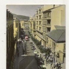 Postales: ANTIGUA POSTAL 1960 / CEUTA / CALLE PRINCIPAL // COCHES ANTIGUOS // CIRCULADA . Lote 46114620