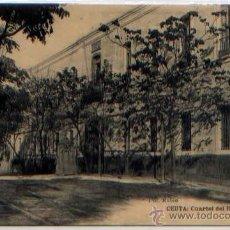 Postales: POSTAL CEUTA CUARTEL DEL REBELLIN MARRUECOS FOTOTIPIA HAUSER Y MENET. Lote 46449323