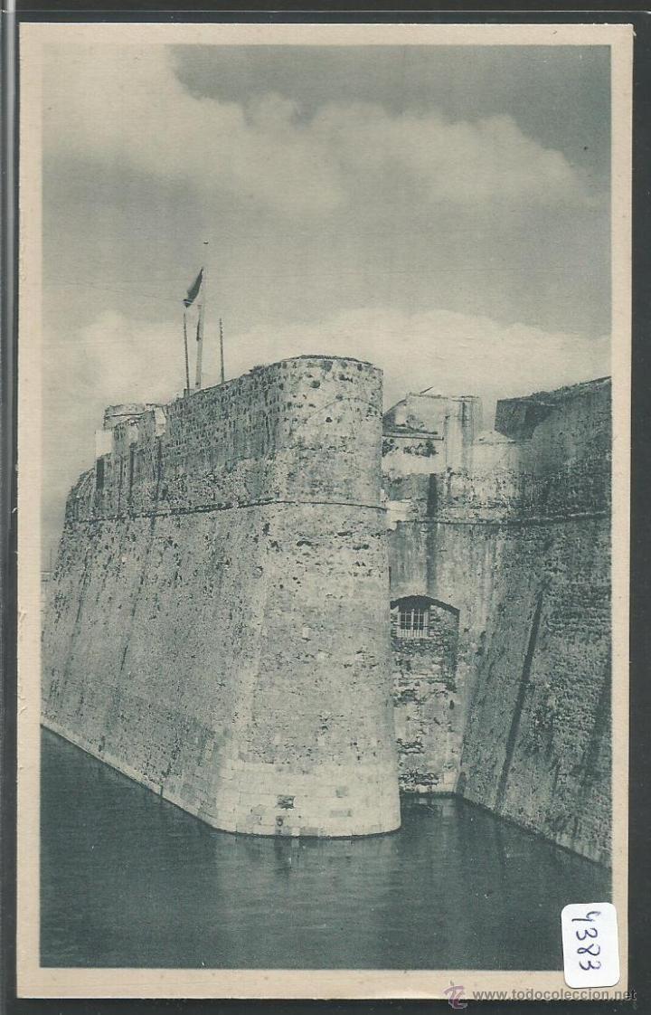 CEUTA - DETALLE DE LA MURALLA REAL - P4383 (Postales - España - Ceuta Antigua (hasta 1939))