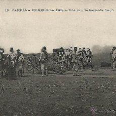 Postales: CAMPAÑA DE MELILLA 1909.. Lote 46950969