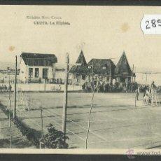 Postales: CEUTA - LA HIPICA - ED· ROS - FOTOTIPIA HAUSER Y MENET - (28553). Lote 47209546