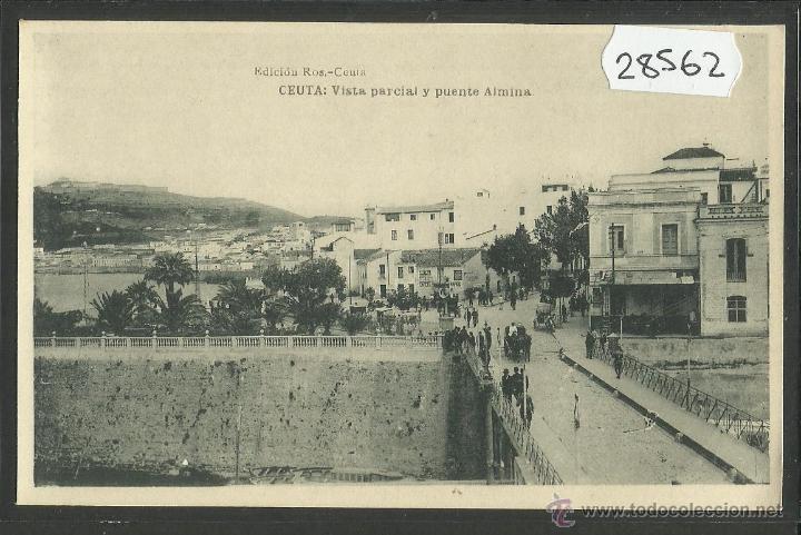 CEUTA - VISTA PARCIAL - ED· ROS - FOTOTIPIA HAUSER Y MENET - (28562) (Postales - España - Ceuta Antigua (hasta 1939))
