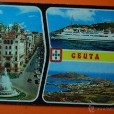 Postales: POSTAL - CEUTA BELLEZAS -GARRABELLA - ESCRITA. Lote 47256165