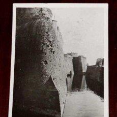Cartes Postales: FOTO POSTAL DE CEUTA, FOSO DEL PRIMER RECINTO, N. 54, CIRCULADA.. Lote 47313956