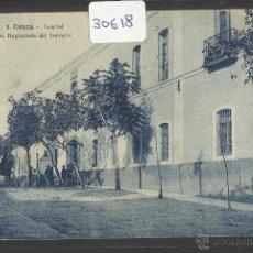 Postales: CEUTA - CUARTEL DEL REGIMIENTO DEL SERRALLO - (30618). Lote 48615935