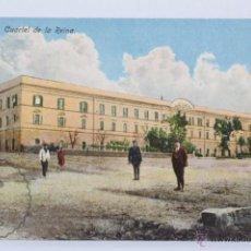 Postales: ANTIGUA POSTAL ANIMADA EN COLOR - 5. CEUTA. CUARTEL DE LA REINA - SIN CIRCULAR, ESCRITA AL DORSO. Lote 49240165