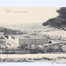 Postales: ANTIGUA POSTAL - CEUTA. CUARTEL DE LA REINA - HAUSER Y MENET - SIN CIRCULAR. Lote 49244440
