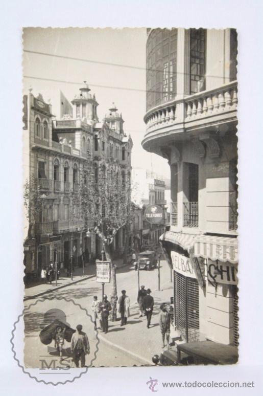 POSTAL FOTOGRÁFICA - UNA VISTA DE CEUTA - CIRCULADA, AÑO 1946 (Postales - España - Ceuta Moderna (desde 1940))