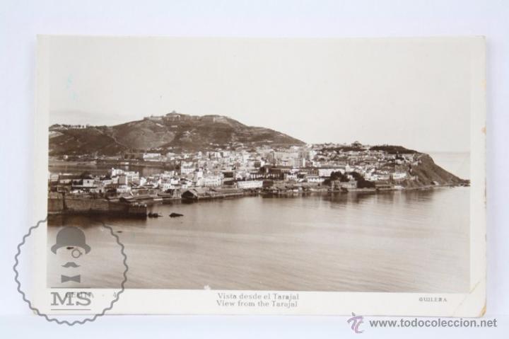 POSTAL FOTOGRÁFICA - 4. CEUTA. VISTA DESDE EL TARAJAL - SIN CIRCULAR (Postales - España - Ceuta Moderna (desde 1940))